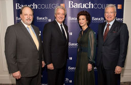 Bernard Baruch Dinner Raises More Than $1 Million for Baruch College Fund